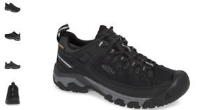 Keen Targhee EXP WP Black Steel Grey Boot Hiker Men's sizes 7-17 NEW!!