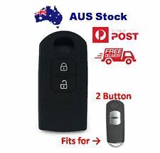 Black Silicone key cover Fits for 2 Button MAZDA 2 3 6 CX3 CX5 CX8 CX9 Key cover