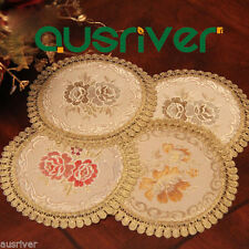 Cotton Round Table Decorations