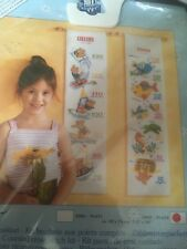 VERVACO/VERACHTERT-CROSS STITCH KIT-Sealife Height Chart
