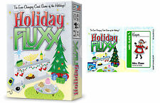 Holiday Fluxx Card Game w/ Mrs. Claus Promo Card Looney Labs Christmas LOO 064