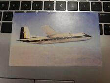 More details for handley page herald  -- british united advertsing postcard  unused