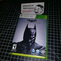 (REPLACEMENT CASE+MANUAL) BATMAN ARKHAM ORIGINS XBOX 360 (NO GAME) SEE ALL PHOTO