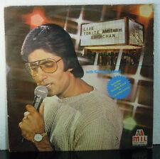 Amitabh Bachchan Live Tonite 1982 Bollywood 2 LP Set Music India  2675 510