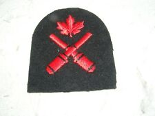 CANADIAN CLOTH BADGE PATCH TOWN CREST MILITARY? SERVICES EMBROIDERED
