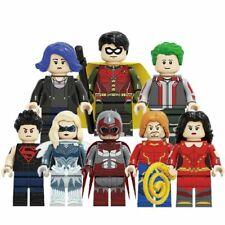 Titans Season Dove Superboy Hawk Aqualad Raven Robin Minifigure lego MOC Marvel