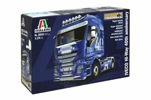 Italeri 3919 1/24 Scale Model Kit Iveco Stralis Hi-Way 40th Anniversary