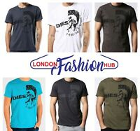 Brand New Diesel Mohican Head Printed Men's T-Ulee T-Shirt/Top. Pure Cotton.
