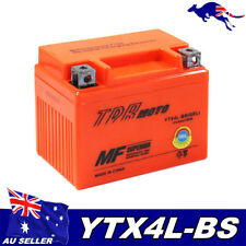 GEL 12V 4Ah Battery Honda CT70 CRF110F CRF125F TLR200 Reflex XR250L YTX4LBS AGM