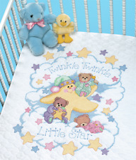 Dimensions - Stamped Cross Stitch Quilt Kit - Twinkle Twinkle - D03171