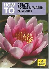 HOW TO CREATE PONDS & WATER FEATURES DVD PRESENTED BY TOM PETHERICK