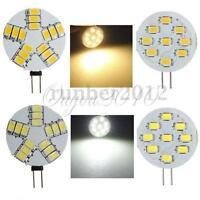 G4 3W 4W 9/15 LED 5630 SMD 300-360LM Pure/Warm White Cabinet Light Lamp Bulb 12V
