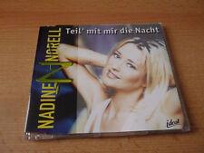 Single CD Nadine Norell - Teil mit mir die Nacht - 2000