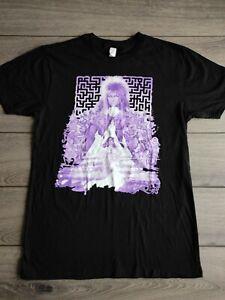 David Bowie Move Labyrinth Black Cotton T Shirt Size M