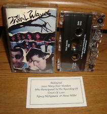WES -- TIDAL WAVES CASSETTE TAPE LORRIE WESOLY 1992 DEMO PRIVATE 2 TRACKS