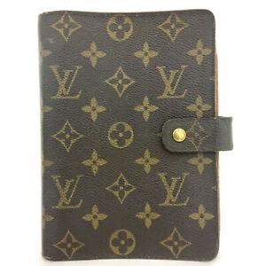 Louis Vuitton Monogram Agenda MM Notebook Cover /81804