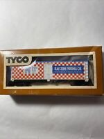 TYCO RALSTON PURINA CO. HO Boxcar - Used Good Condition  in Original Box- A 2