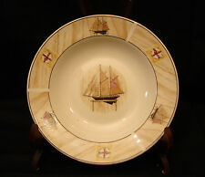 Saling Boat By Winpat SOUP & CEREAL BOWL 8 1/2""