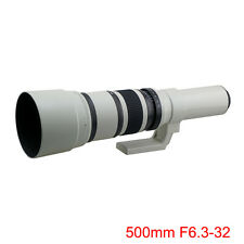 500mm F6.3-32S Supper Mirror Telephoto Lens for Panasonic M4/3 Camera + T2 Mount