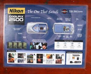NIKON COUNTER MAT, ADVERTISING THE COOLPIX 2500/205191