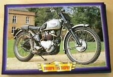 TRIUMPH TR5 TROPHY VINTAGE CLASSIC  MOTORCYCLE TRAIL BIKE 1950'S PICTURE 1951