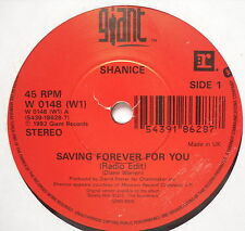 "SHANICE - Saving Forever For You - Excellent Condition 7"" Single Giant W 0148"