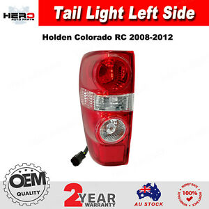 TAIL LIGHT LAMP FOR HOLDEN COLORADO RC CREW/SPACE CAB 2008-2012 LH LEFT SIDE
