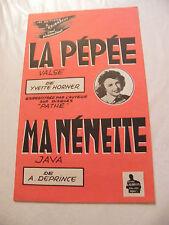 Partition La Pépée Yvette Horner Ma Nénette A Deprince
