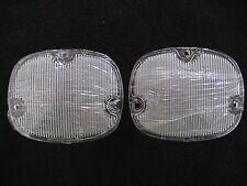 1959 59 CADILLAC BACKUP LIGHT LENS CLEAR - 1 PAIR
