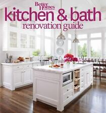 Better Homes and Gardens Kitchen and Bath/Bathroom Renovation Guide DIY book