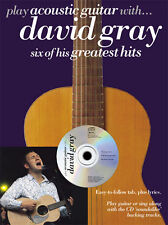 Play Acoustic Guitar With David Gray Music Book TAB CD