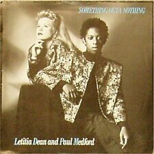 """LETITIA DEAN AND PAUL MEDFORD 'SOMETHING OUTA NOTHING' UK PICTURE SLEEVE 7"""""""