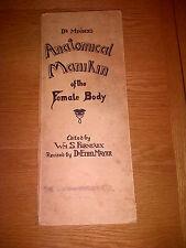 DR MINDER'S Anatomical Manikin of the Female Body Book FURNEAUX / DR ETHEL MAYER