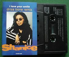 Shanice I Love Your Smile Driza Bone Remix Cassette Tape Single - TESTED