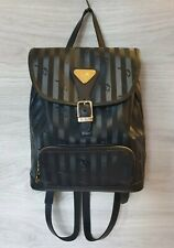 Vintage Authentic Maison Mollerus Backpack PVC Leather women