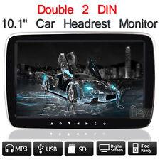 "10"" HD Digital LCD Car Pillow Headrest Monitor Radio MP5/USB/TFT Player FM Game"