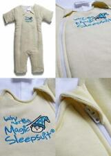 Baby Merlin's Magic Sleepsuit - Swaddle Transition Product 6-9 Months, Cream