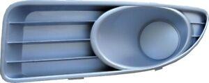 Left Fog Light Gray Frame Blank Housing for Fiat Linea 2009-On Oe 735460616