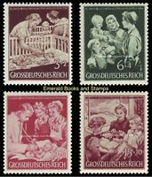 EBS Germany 1944 10th Anniversary Mother & Child Charity Michel 869-872 MNH**