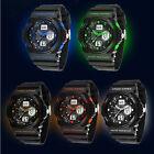 Men Women Waterproof Analog LED Digital Alarm Date Sports Wrist Watch Elegant