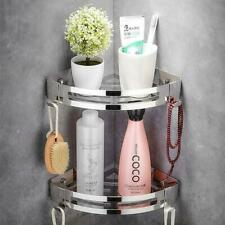 Punch-Free304Stainless Steel Triangle Basket Bathroom Shelf Suction Wall-Mounted