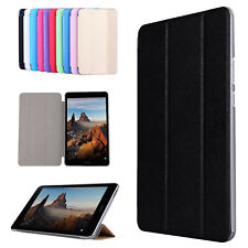 """For Huawei MediaPad M3 T3 8"""" 10"""" Tablet Silk Texture Tri-fold Leather Stand Case"""