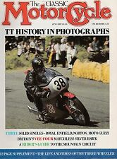 J2 Royal Enfield  Norton 16H  Moto Guzzi  New Imperial  TT Photo History  6/1987