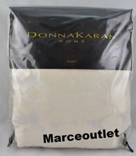 Donna Karan Home Aura Collection King Duvet Cover Ivory