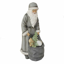 Widdop Santa Claus with Sack Freestanding Christmas Figurine Ornament 39cm