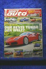 Sport Auto 7/15 Ferrari 488 GTB C63 AMG CLA 45 Audi RS 3 TT Clubsport Subaru WRX