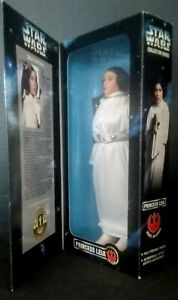 "1996 Star Wars 12"" Princess Leia Poseable Doll Figure Kenner NEW in Box Sealed"