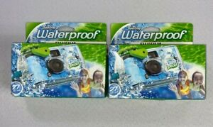 Quick Snap Waterproof Fujifilm 27 exp Lot of2EXPIRED 01-2019 NEW BJ