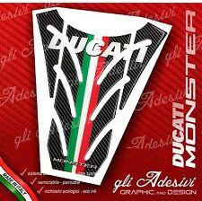 Paraserbatoio Resinato Sticker 3D DUCATI MONSTER 696 796 1100 mod. P4