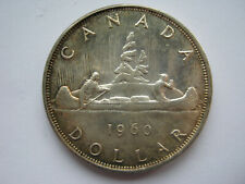 Canada 1960 silver Dollar A UNC contact marks in obv fields